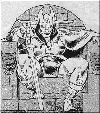 Storming the capital city and slaying Numedides on the steps of his throne -- which he promptly took for his own -- Conan, now in his early forties, found himself ruler of the greatest Hyborian nation.