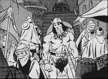 Continuing southward into Zamora, Conan came to Arenjun, the notorious City of Thieves.