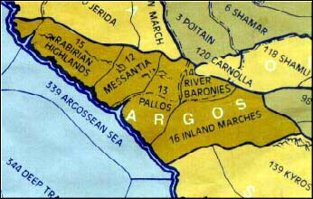 The provinces of Argos