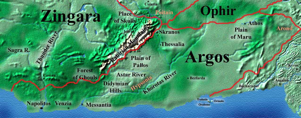 Maps of the hyborian age the dreaming west by vincent n darlage includes aquilonia argos gumiabroncs Choice Image